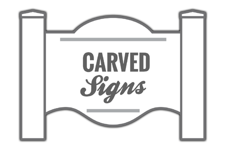 Carved Sign Icon