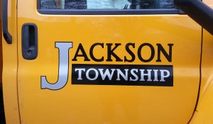 Jackson Township Pickup Truck Door Graphics