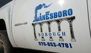 Lanesboro Pickup Truck Graphics