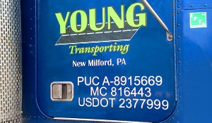 Semi Truck Door Graphics